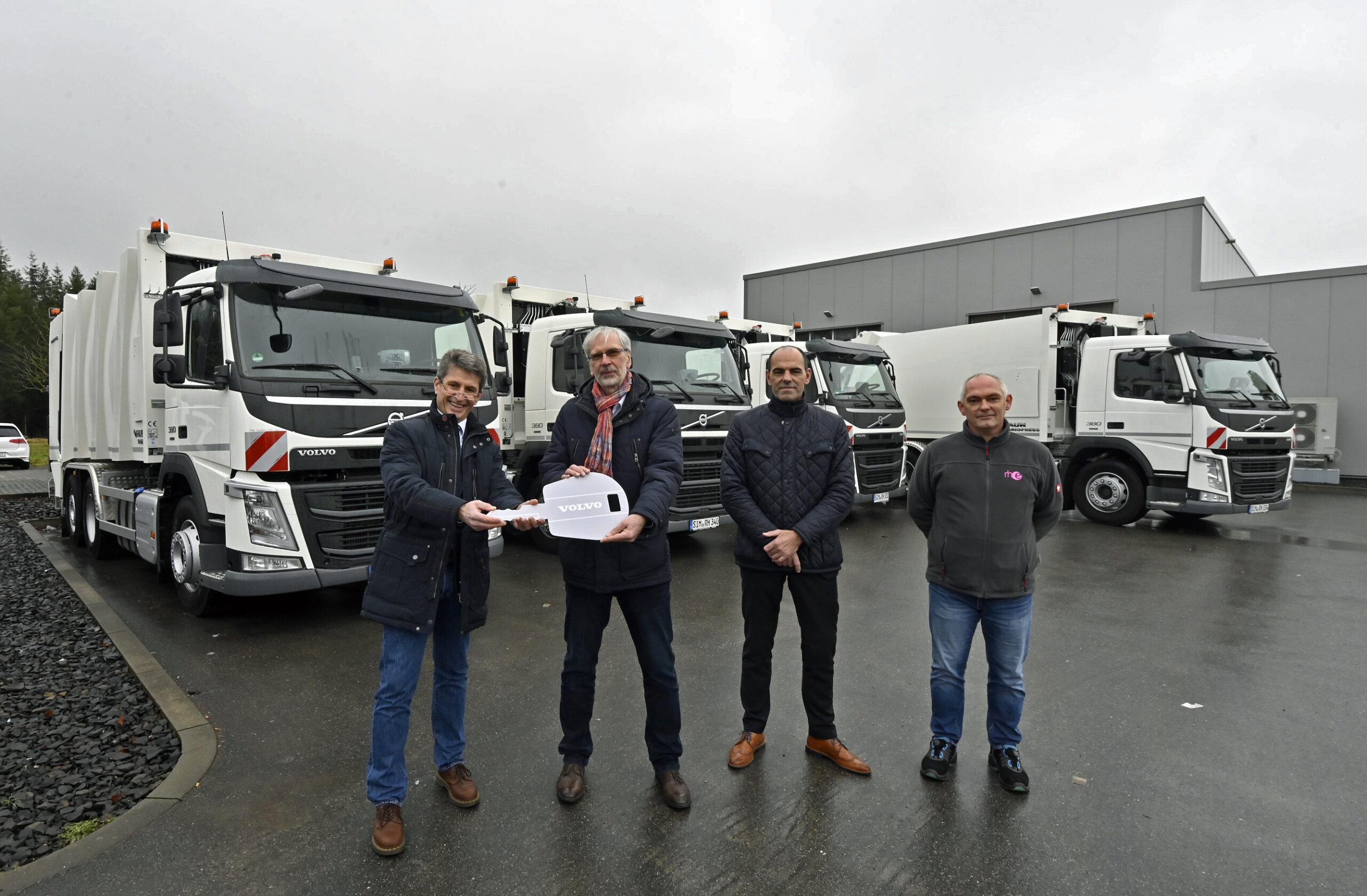 Kirchberg Deponie neue Fahrzeuge 1